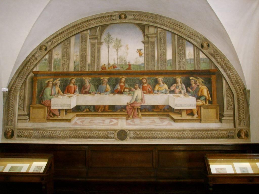 Perugino, Cenacolo di Fuligno, Firenze.