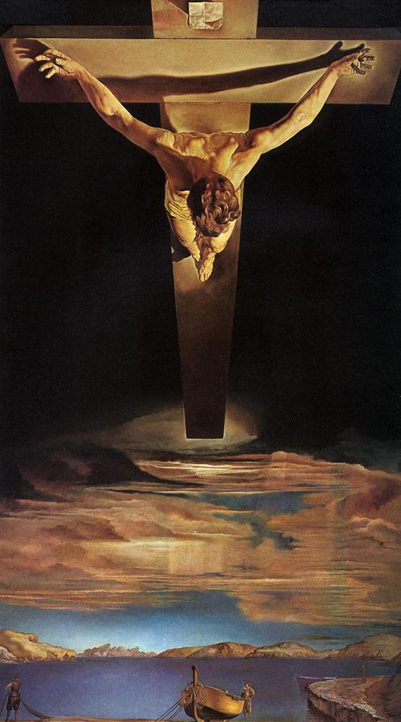 Cristo Crocifisso di Salvador Dalì