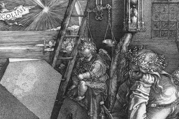 immagine Albrecht Dürer Melacholia I