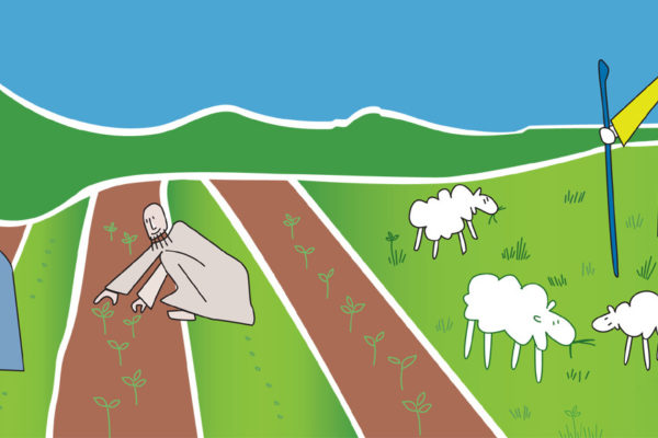 gesù pastori contadini