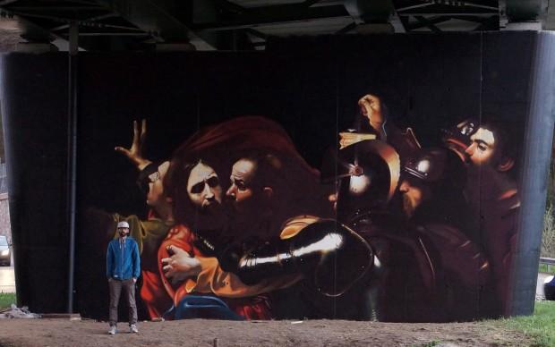 la cattura di cristo caravaggio - Andrea Ravo Mattoni