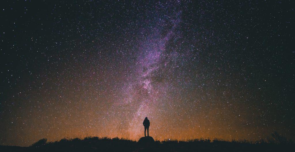 stelle cielo uomo