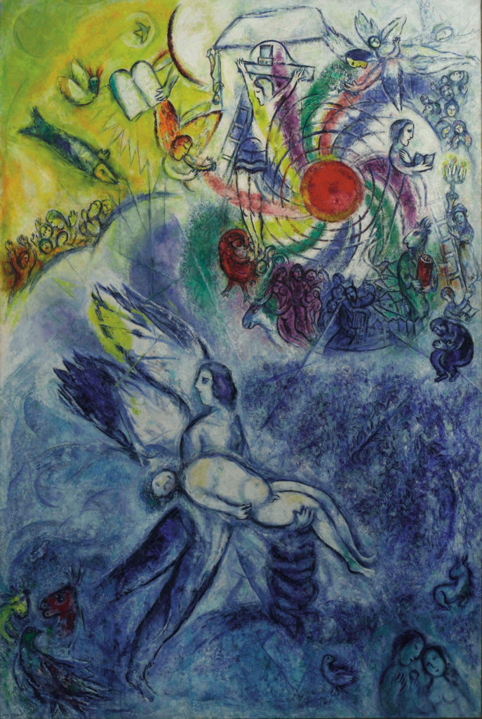 dipinto marc chagall